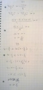 Equazioni e Disequazioni - Esercizi Svolti